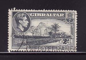 Gibraltar 110 U King George VI, Rock of Gibraltar