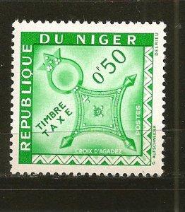 Niger J22 Postage Due MNH