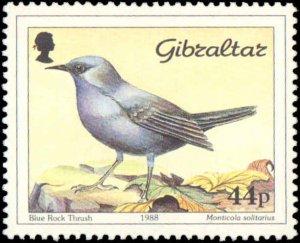 Gibralter #532-535, Complete Set(4), 1988, Birds, Never Hinged