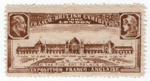 (I.B) Cinderella Collection : Franco-British Exhibition (Fine Art Palace)
