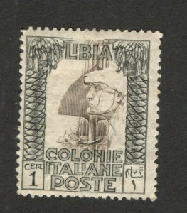 ITALY LIBIA - MH STAMP , 1 c - 1926/1930.