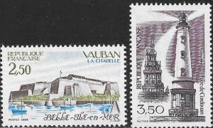France 1914-1915 MNH - Buildings