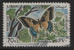 LEBANON, C431, USED, 1965, Machaon