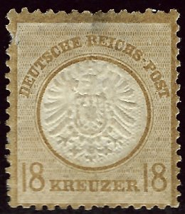 German #26 Mint F-VF hr/perf thins  SCV$40.00...Such a Deal!