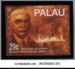 PALAU - 1994 BARON PIERRE FOUNDER OF MODERN OLYMPIC 1V MNH