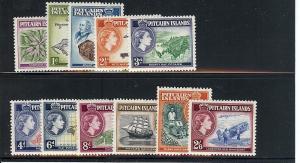 Pitcairn Islands, 20-30, Various Designs Singles,**MNH**