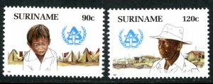 Suriname 769-70 Youth  MNH mint      (Inv 001303.)