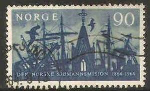 Norway Used Sc 457 - Seamens Mission Centenary