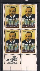 US Zip Blk Sc# 1771 Martin Luther King MNH LL
