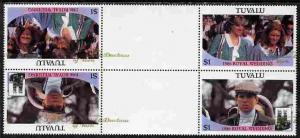 Tuvalu 1986 Royal Wedding (Andrew & Fergie) 60c with ...
