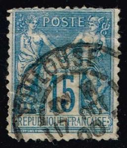 France #103 Peace and Commerce; Used (0.80)