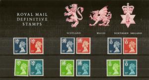 GB 1988 Definitive Presentation Pack 17