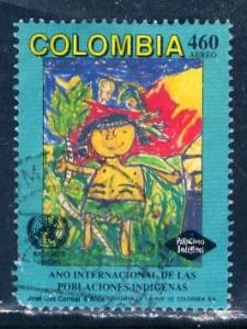Colombia; 1993: Sc. # C859: O/Used Cpl. Set