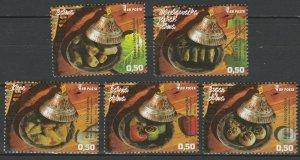 Bosnia and Herzegovina 2018 Traditional Food 5 MNH stamps