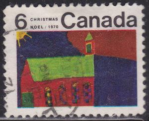 Canada 528 USED - 1970 Church