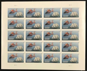 5008   U.S. Coast Guard    MNH Forever sheet of 20    FV $11.00   Issued in 2015