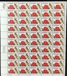 1375      Alabama Statehood   MNH 6c sheet of 50     FV $3.00     Issued in 1969