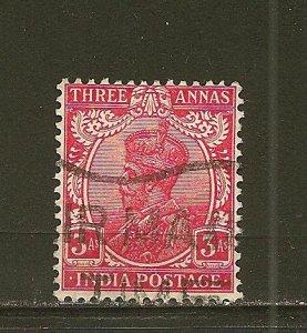India 115 King George V  Used