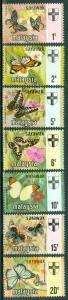Malaysia - Sarawak - Scott 235-241 MNH