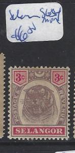 MALAYA SELANGOR  (P1111B)   TIGER 3C  SG 54  MOG