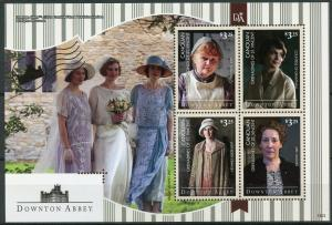 Canouan Grenadines St Vincent 2014 MNH Downton Abbey 4v M/S I TV Series Stamps