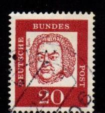 Germany -  #829 Johann Bach- Used