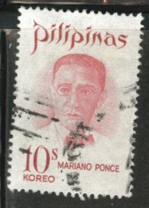 Philippines Scott 1082 Used 1970