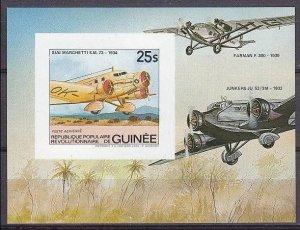 1984 Guinea 986/B95b Planes 14,00 €