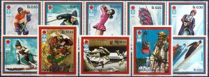 1972 Paraguay Olympic Games Sapporo, complete set VF/MNH!