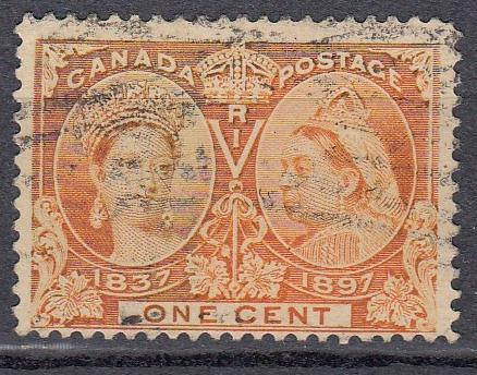 Canada - 1897 QV 1c Sc# 51 - (699)