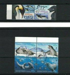 AAT105) Australian Antarctic Territory 2000 Penguin 2001 Leopard Seals CTO/Used