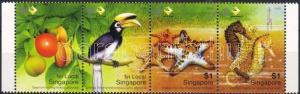 Singapore stamp National park margin stripe of 4 2004 MNH   WS3053