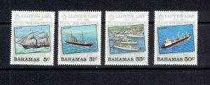 BAHAMAS - 1994 - LLOYD'S LIST - SCOTT 555 TO 558 - MNH