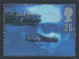 Great Britain SG 1985  Used  - British Aircraft Designers
