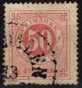 Sweden #26  Used  CV $50.00 (X5146)