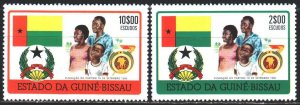 Guinea-Bissau. 1975. 356-57. Independence, Party Fund. MNH.