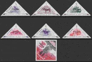 Lundy Island (7v) F-VF Mint NH ** Europa 1961