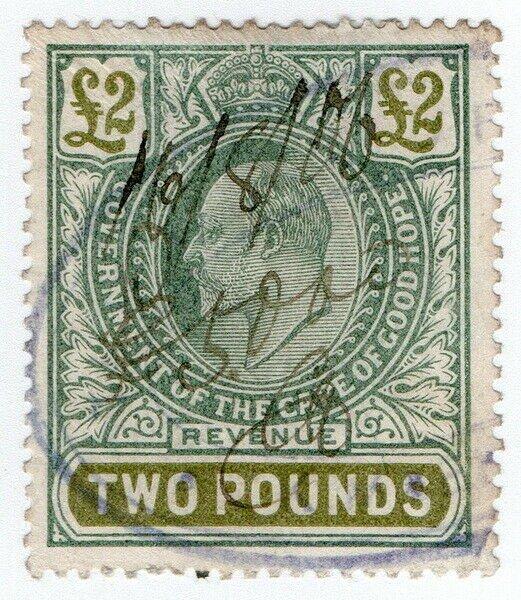 (I.B) Cape of Good Hope Revenue : Stamp Duty £2