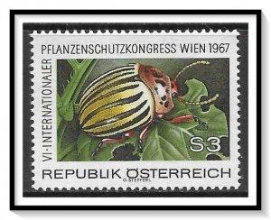 Austria #796 Potato Beetle MNH