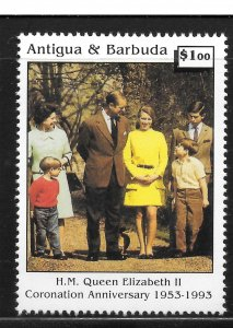 Antigua Mint Never Hinged [8259]