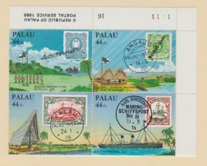 Palau Scott #C9a Stamps - Mint NH Plate Block