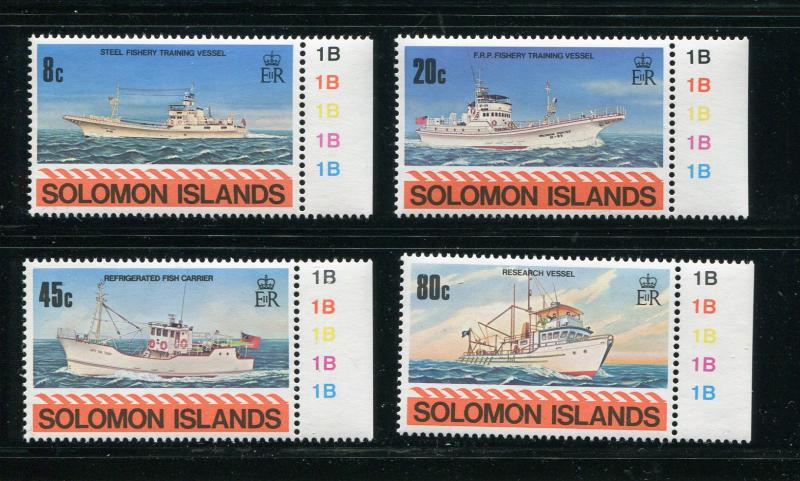 Solomon Islands #421-4 MNH