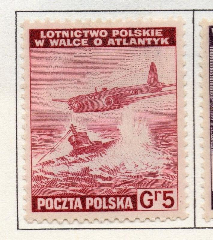Poland 1941-44 Early Issue Fine Mint Hinged 5g. 190946
