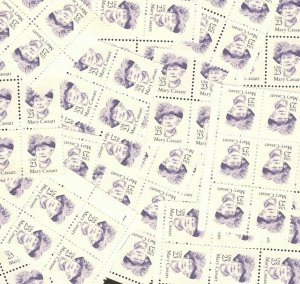 US Postage Stamps 2181 Mary Cassatt Wholesale Lot Of 100 US Stamps Mint/nh