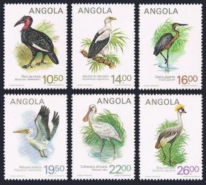 Angola 683-688,MNH.Michel 701-706. Birds 1984.Bucorvos leadbeateri,Gypohicax