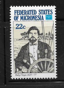 MICRONESIA,52,  MNH, BULLY HAYES