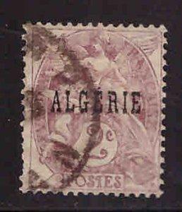 ALGERIA Scott 3 Used stamp