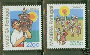 MADEIRA Scott 86-7 MNH** 1982 set CV$2.70