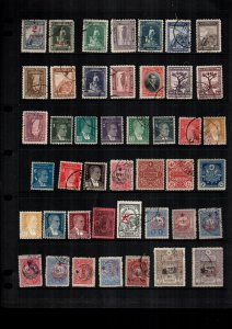 Turkey  43  diff  used and mint   lot collection