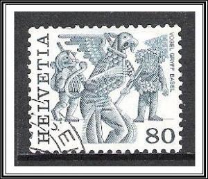 Switzerland #643 Folk Customs Used